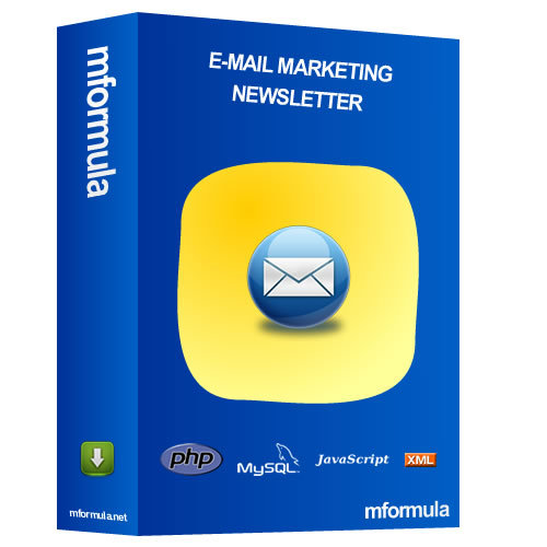System for sending e-mail marketing and newsletters with the Control Panel to create Packages, Limits of E-mails and Period, Creation of User per Groups, and more ...